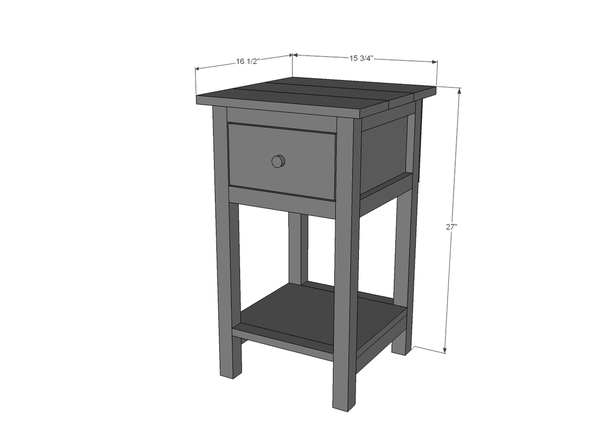 small side table plans
