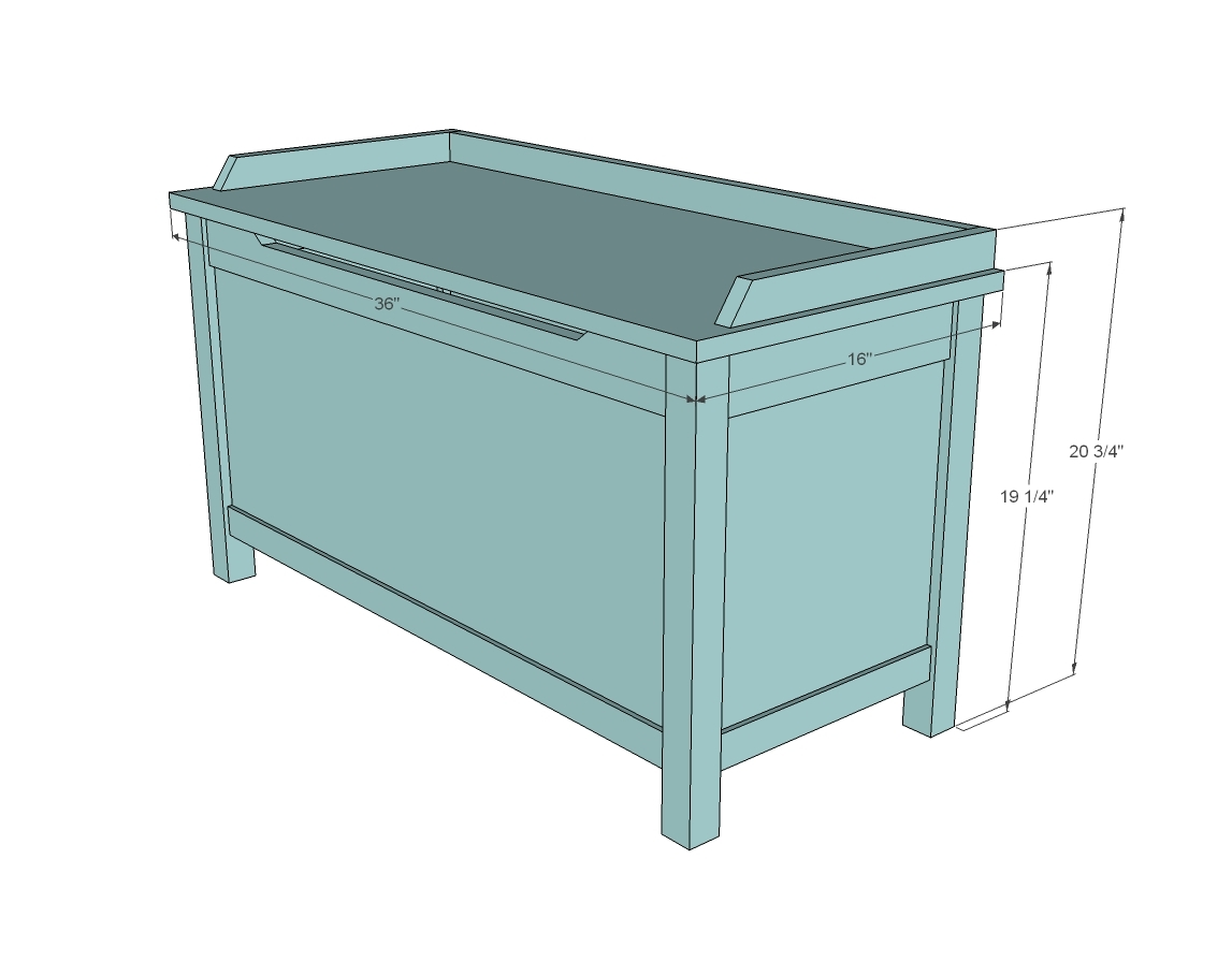 free plans for toy boxes | Online Woodworking Plans