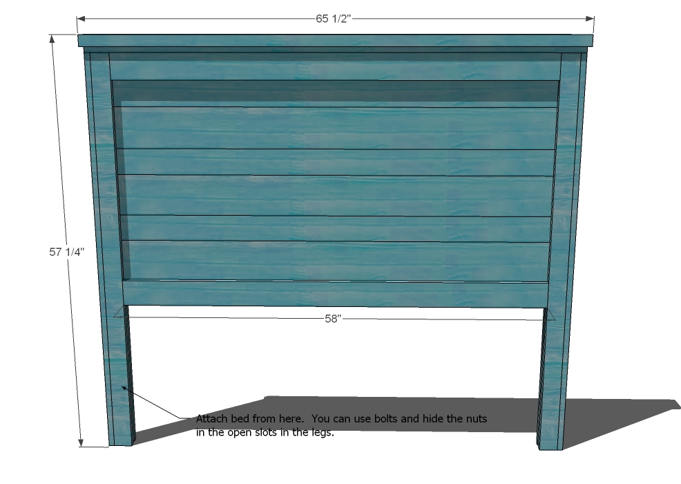 Wood Queen Headboard Plans