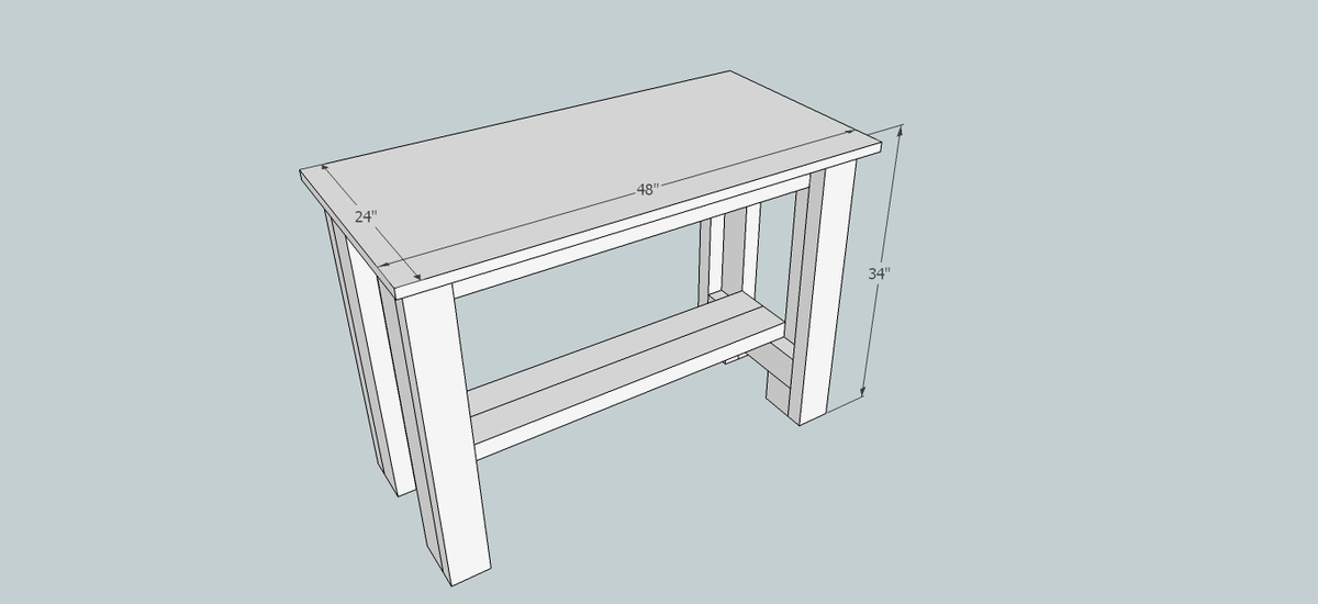woodworking bench length