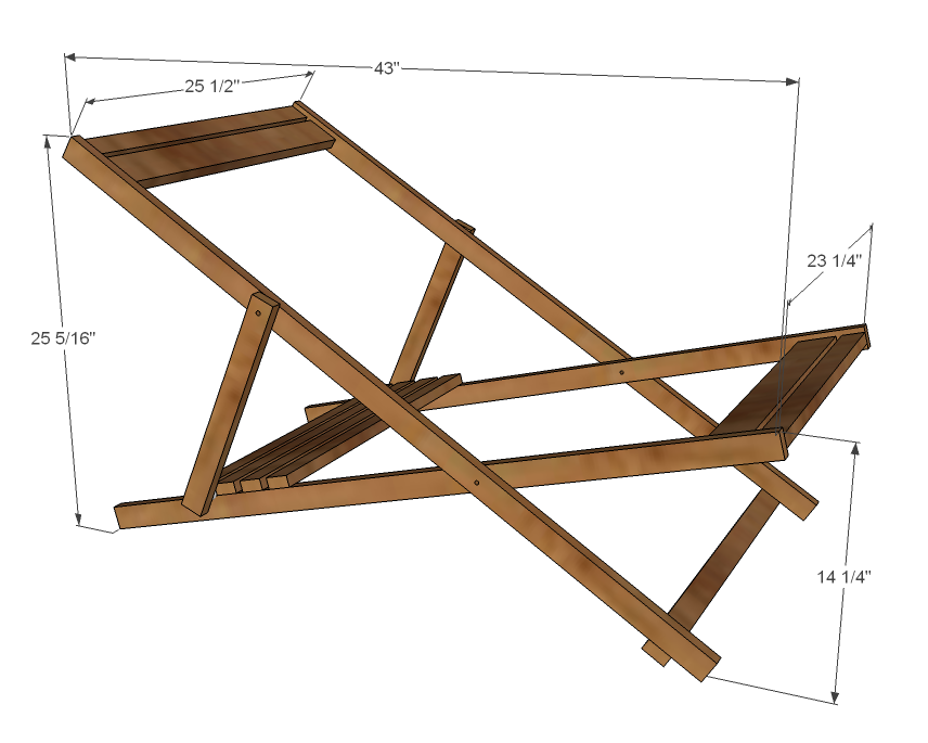 Folding Wood Chair Plans Submited Images
