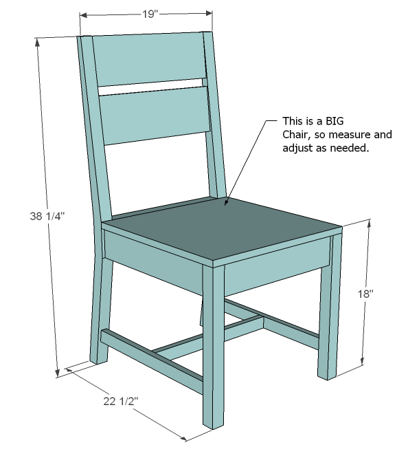 chair building plans