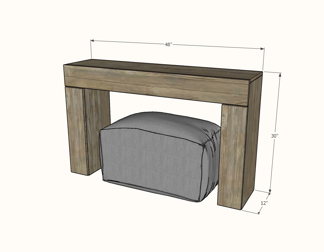 console table converts to desk