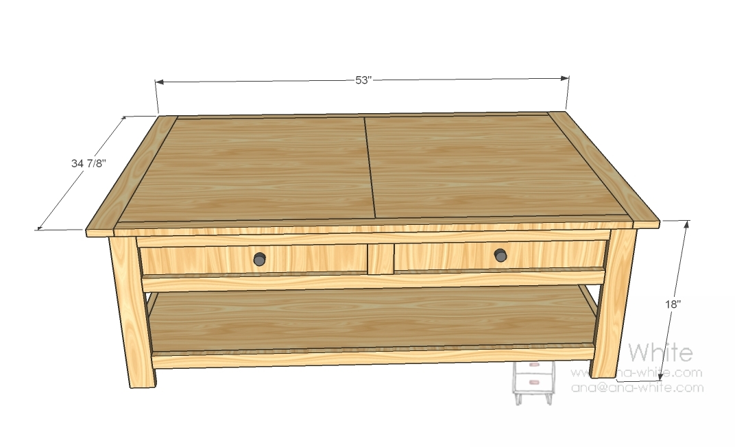 Diy model train table plans plans free Homemade coffee table plans