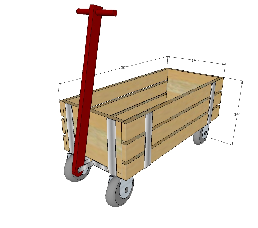 plans for building a wooden wagon