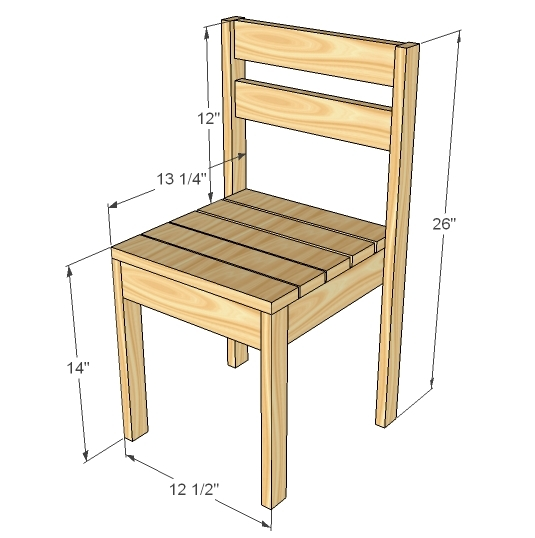 chair plans dimensions plans free pdf download