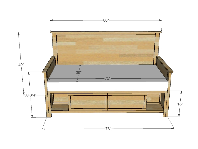 Side Table Woodworking Plans For Daybed