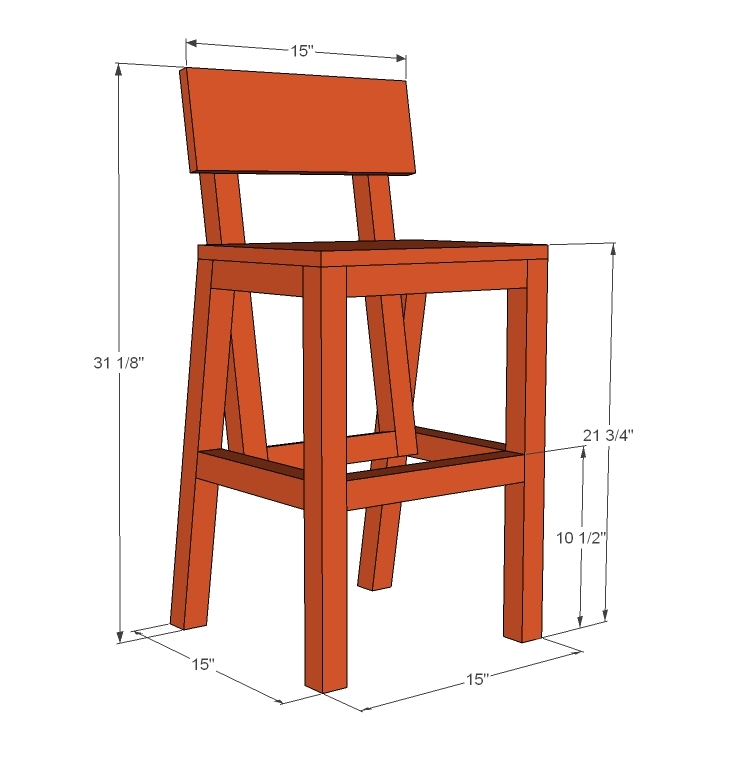 higher chair dimensions