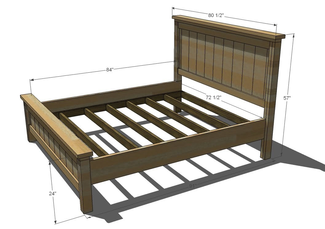 bed plans king size