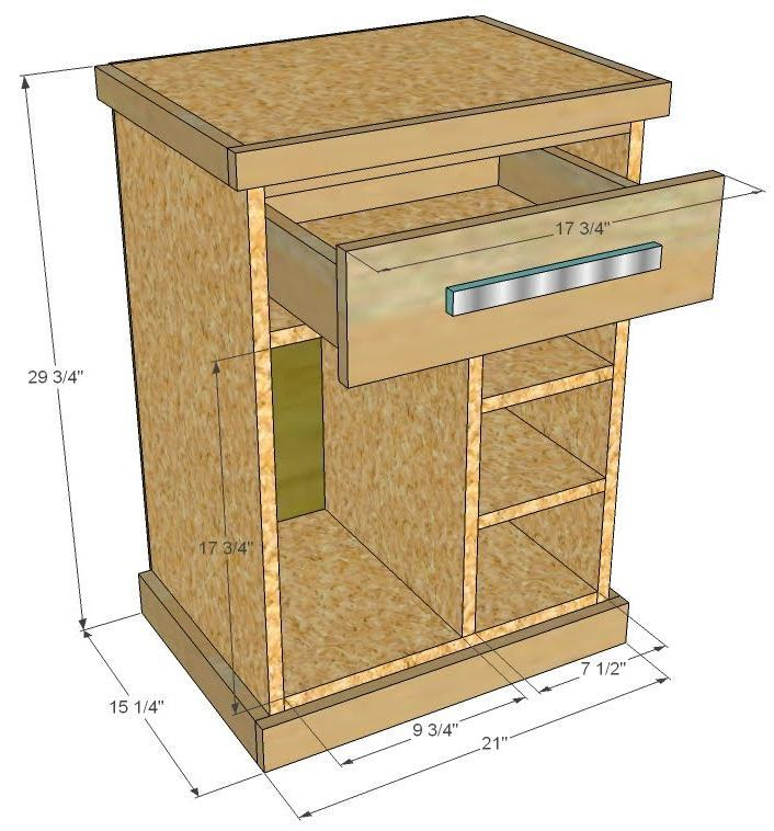 Ana White Modular Office Cpu Base Plans Diy Projects