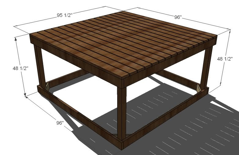 Wood work playhouse platform plans pdf plans for How to build a wood platform