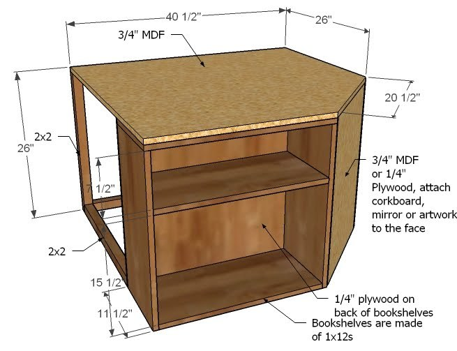 mdf furniture projects