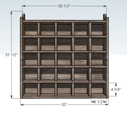 Shoe Storage Cubby Plans Woodideas