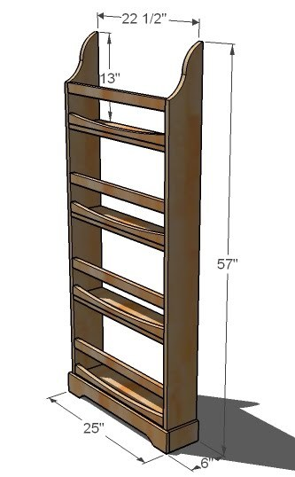 Overall Dimensions are shown above. Composition is solid wood boards ...