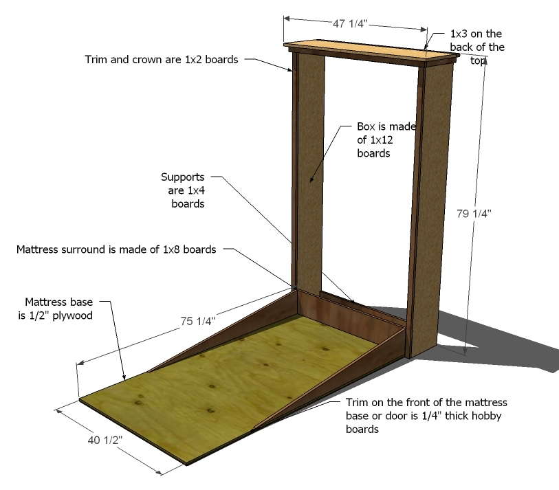 build a murphy bed instructions