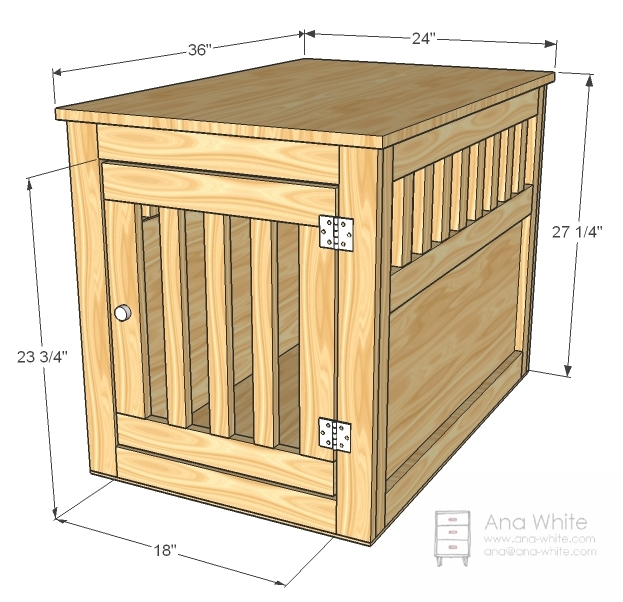 wood pet kennel plans