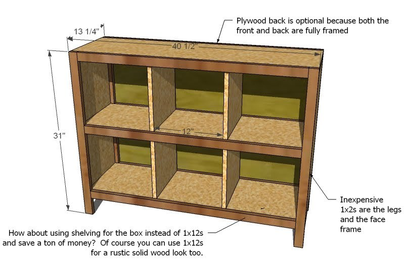 Woodwork Cube Storage Shelves Plans PDF Plans