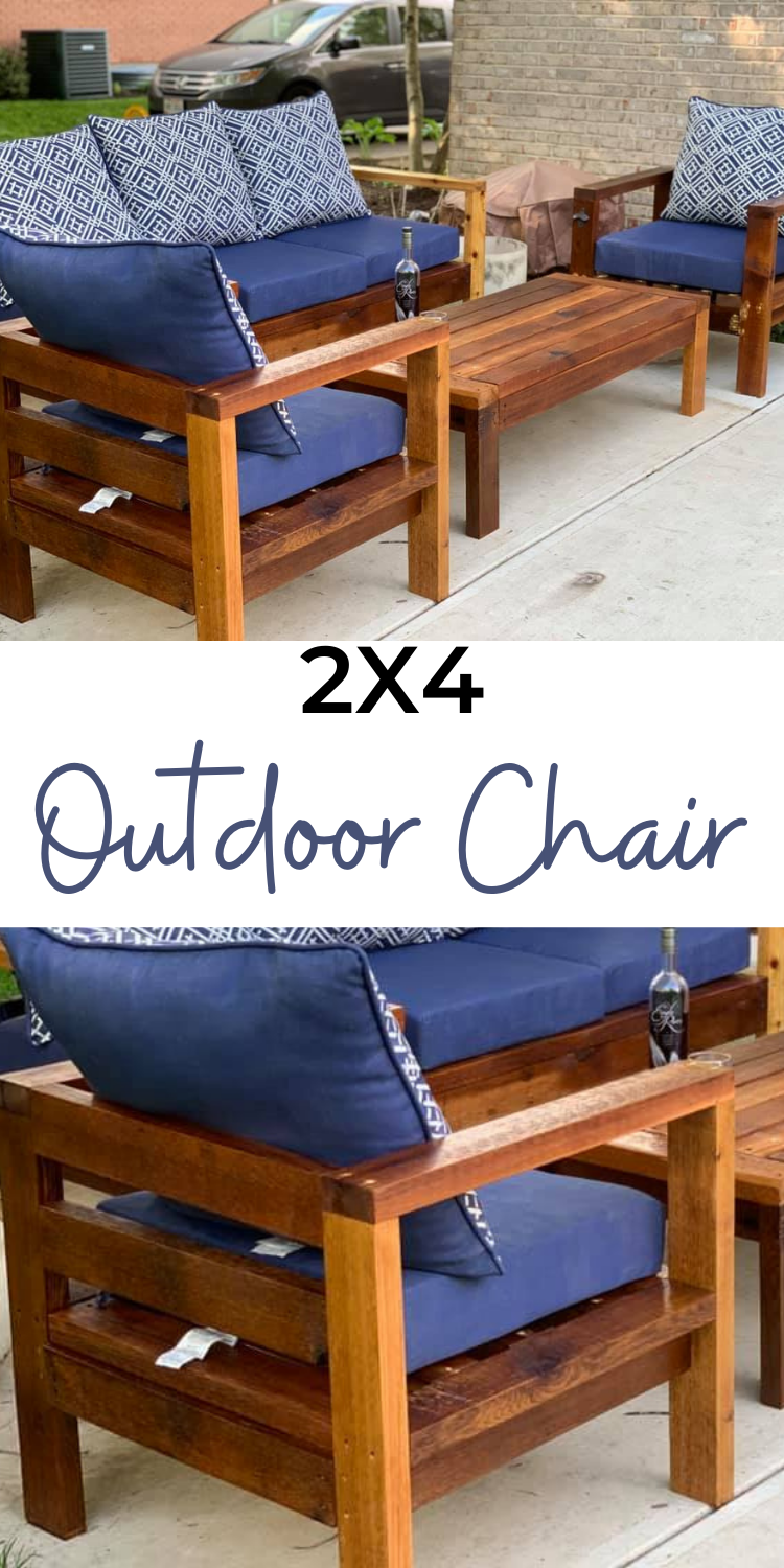 2x4 Outdoor Chair