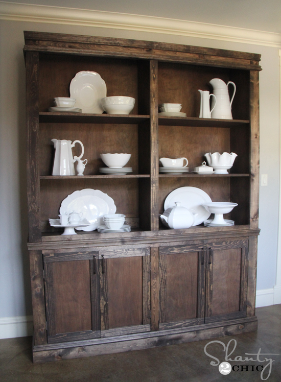 build your own dining room cabinet