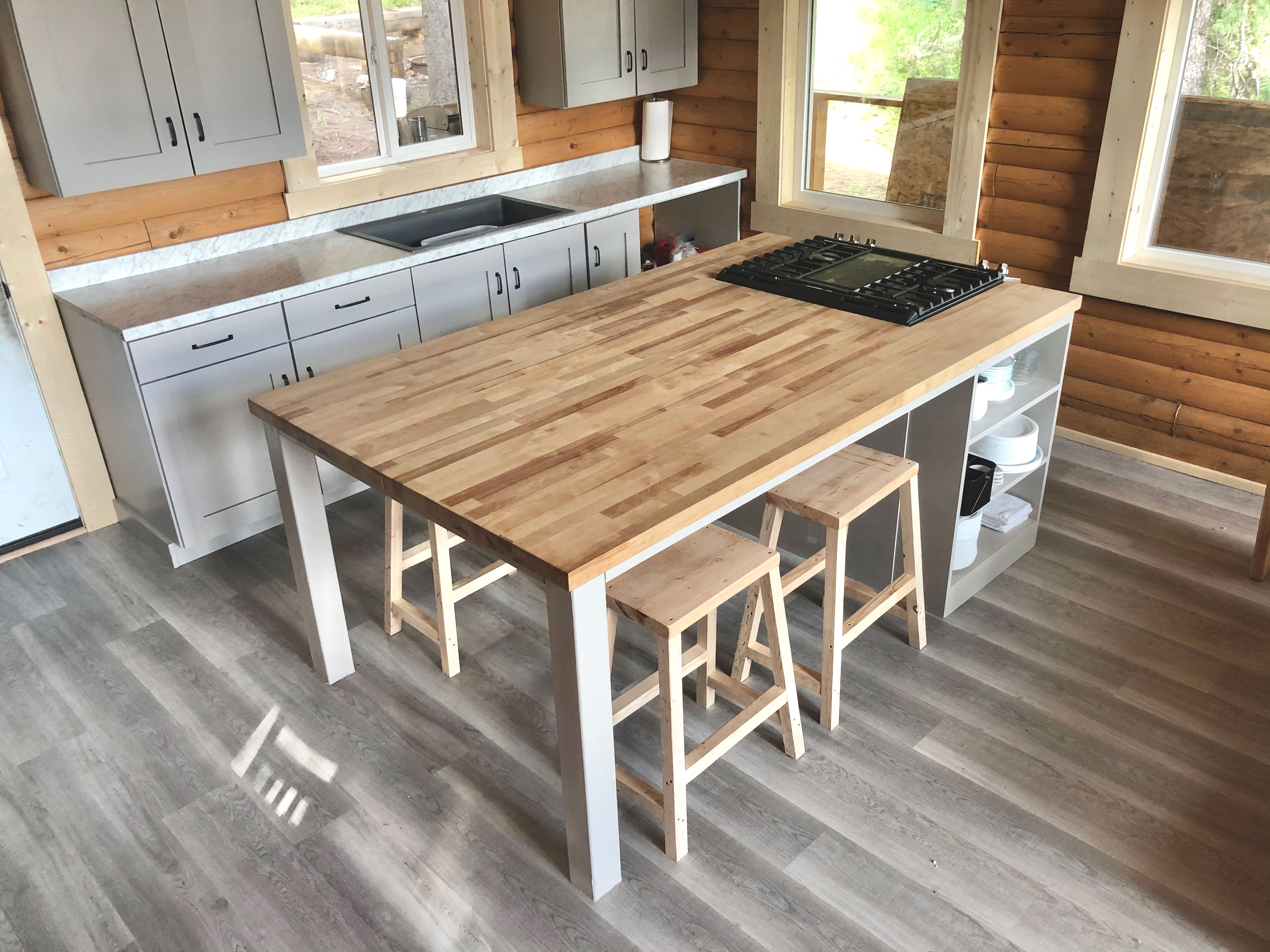 kitchen island for gathering