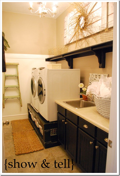 laundry room pedestal bases