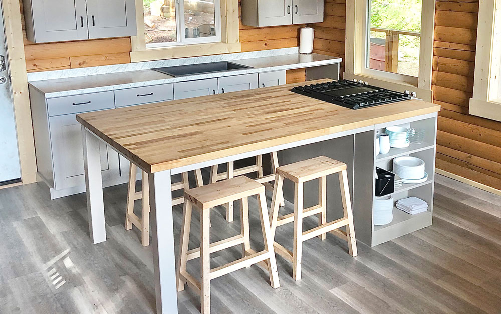 Gathering Kitchen Island Ana White