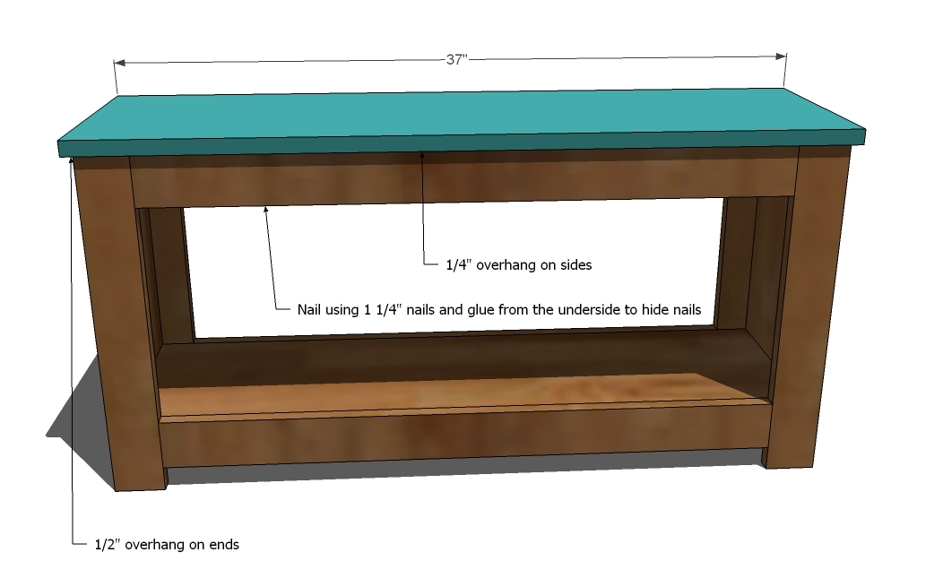 Ana White | Build a Spa Bench | Free and Easy DIY Project and ...