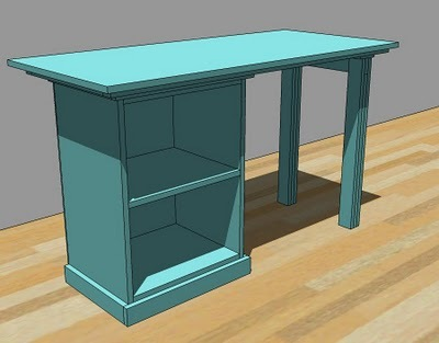 Woodworking plans small desk