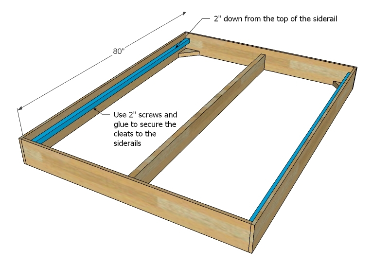 build a bed frame plans