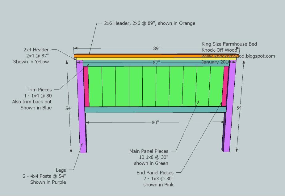 Diy King Headboard Plans