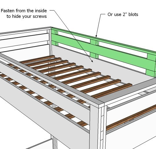 Building a Loft Bed Frame