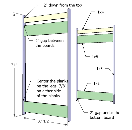 loft bed instructions plans