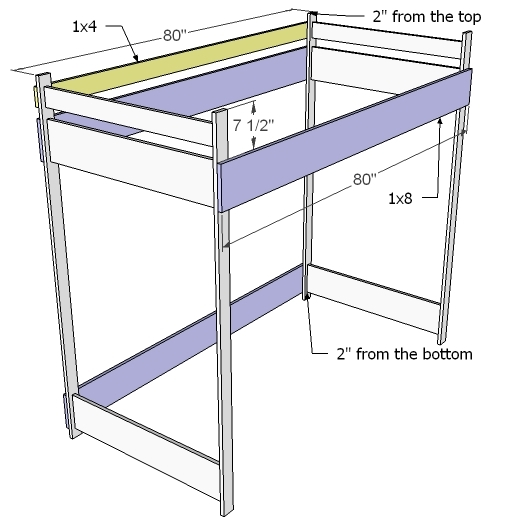 ... to Build a Loft Bed | Free and Easy DIY Project and Furniture Plans