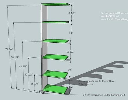 Bookcase Plans For Everybody