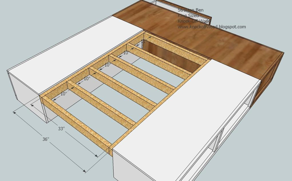 here diy king bed frame plans drop work