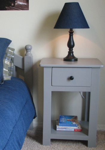 Ana White Lee And Beth S Simple Nightstands Diy Projects