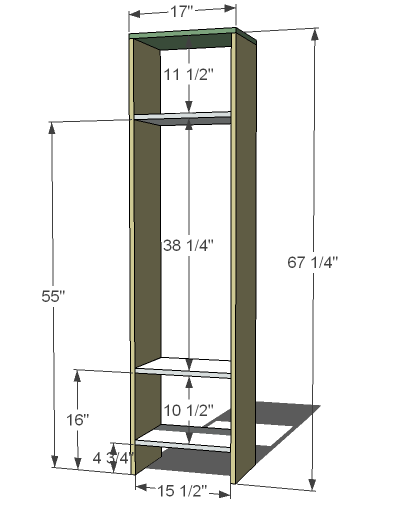 plans to build a wooden locker