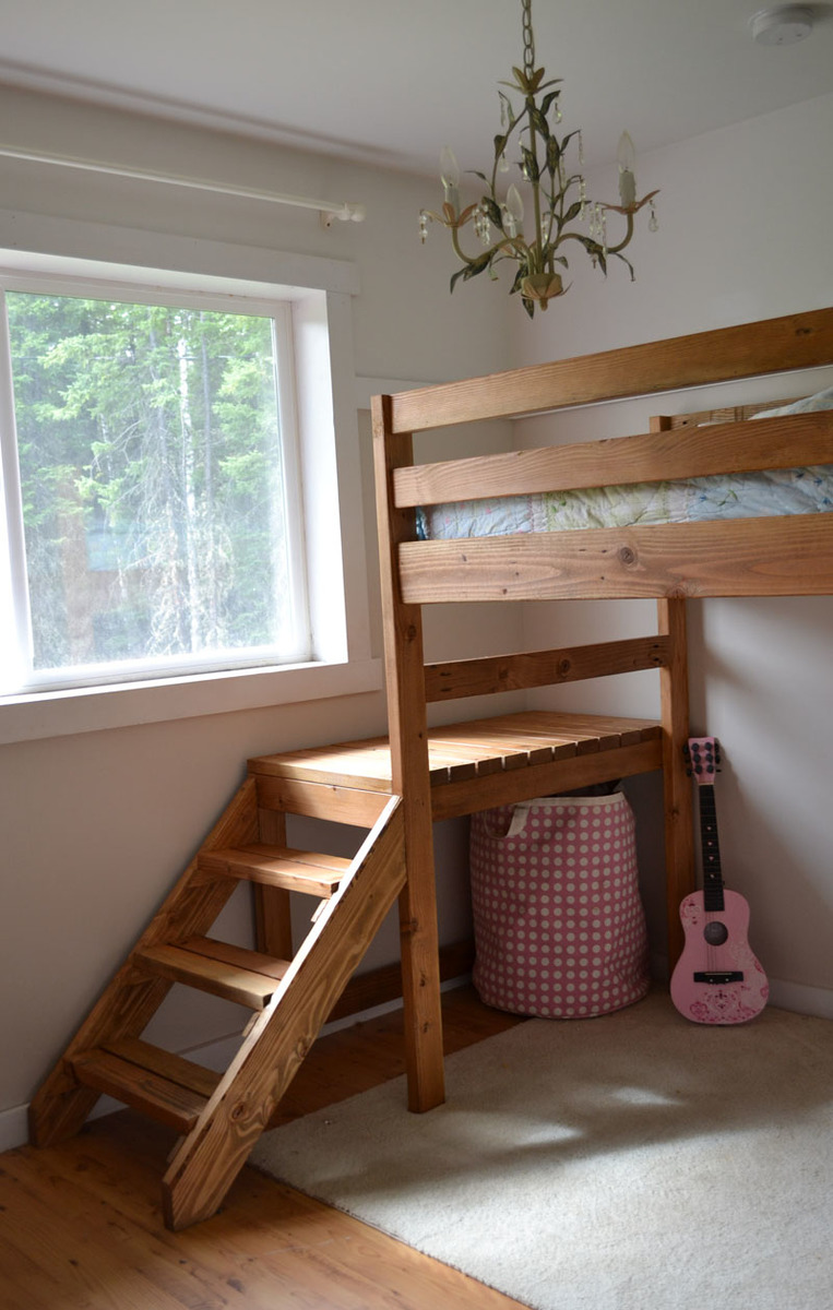 Permalink to free loft bed plans full