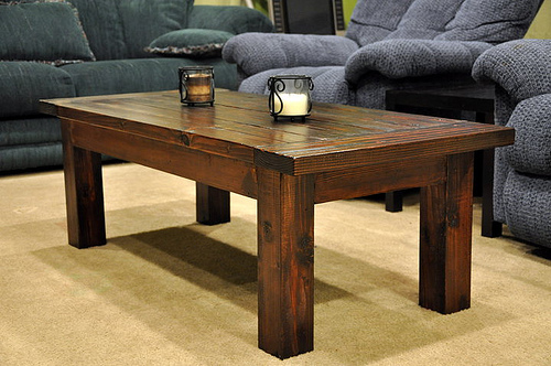 build coffee table plans