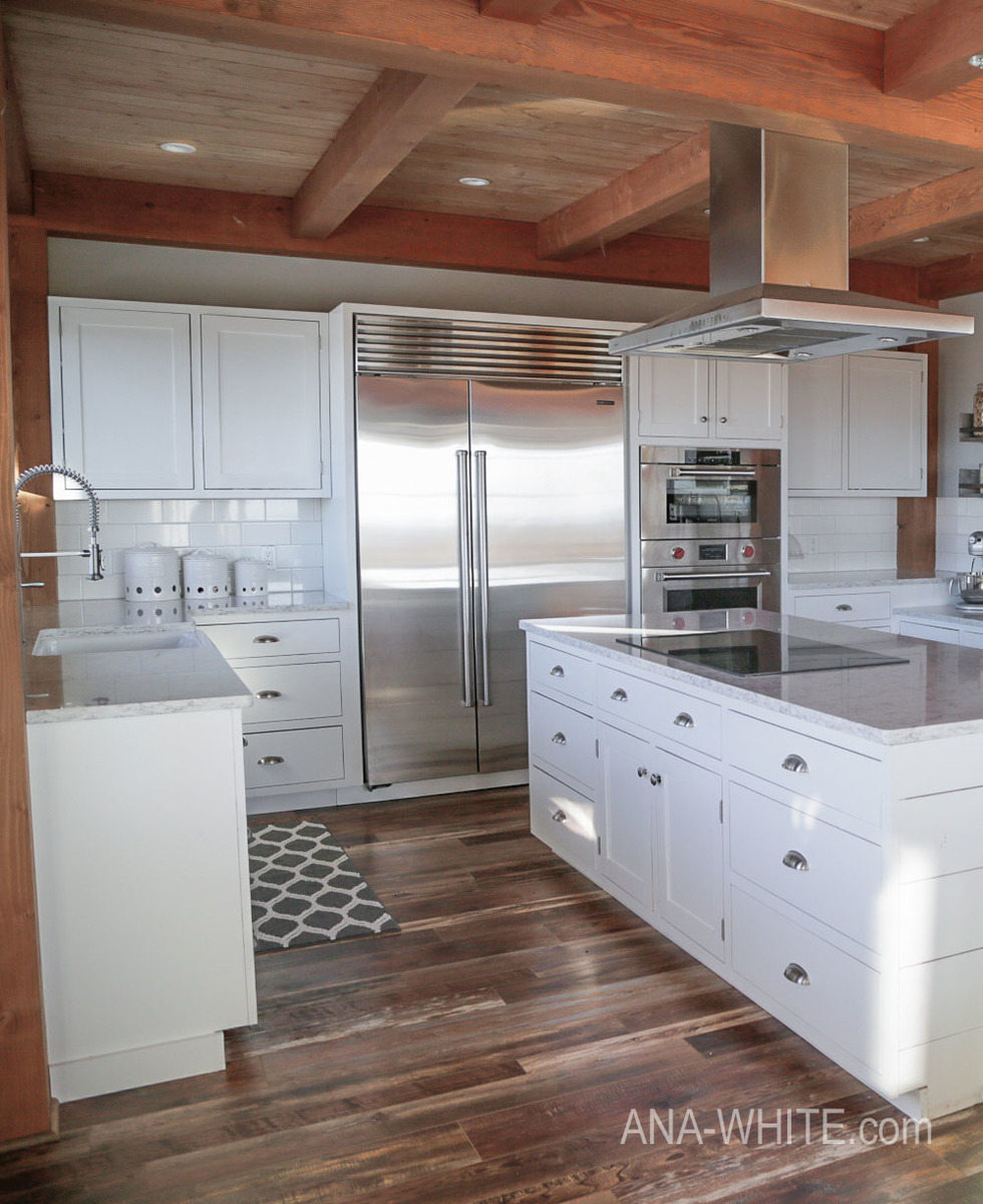 Farmhouse Kitchen Cabinets: Modern Farmhouse Kitchen ... Almost Done