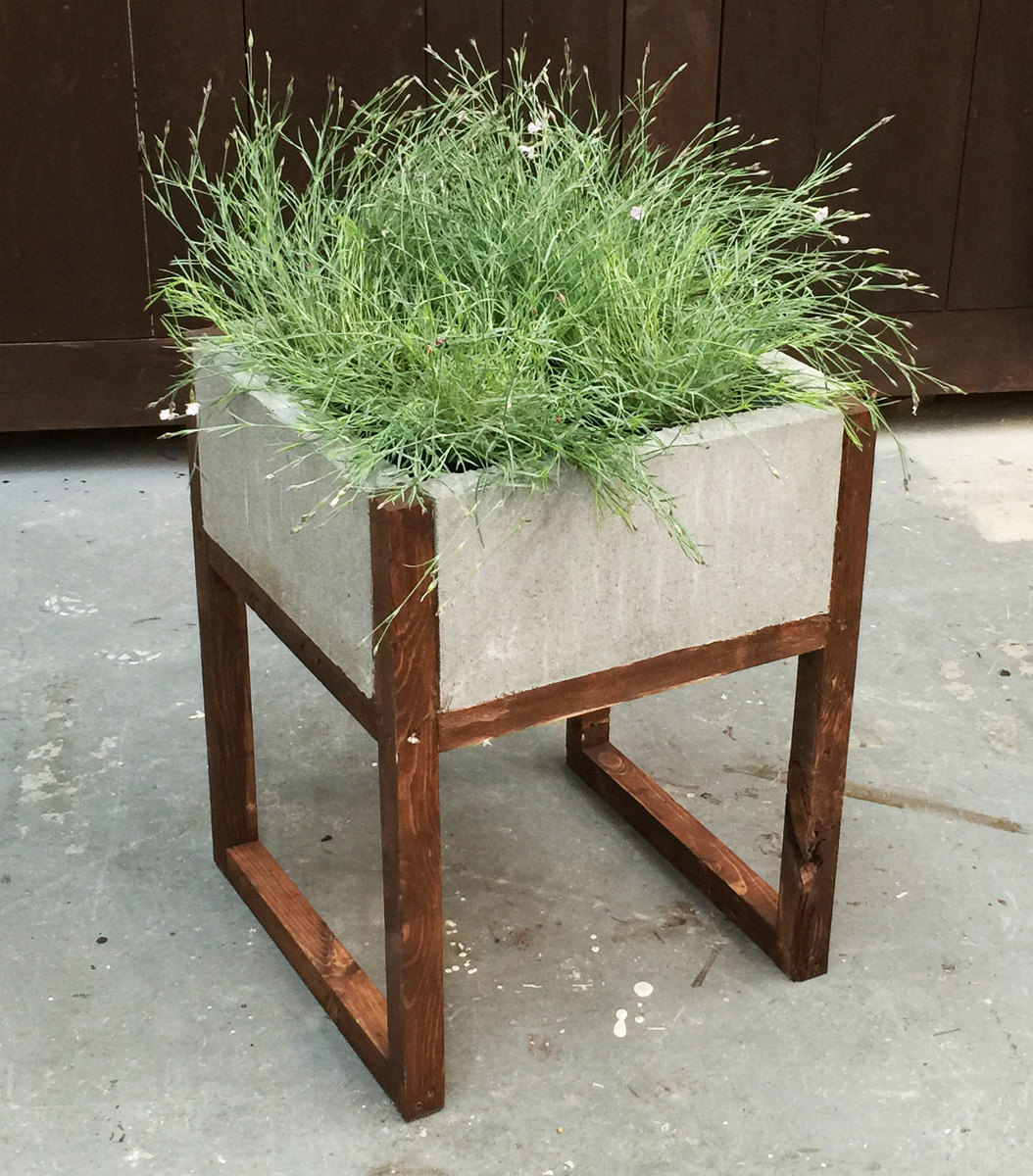 Ana White | Home Depot DIH Workshop Modern Paver Planter - DIY ...