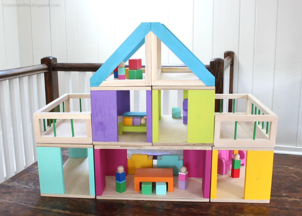 How To Modular Stackable Dollhouse Ana White