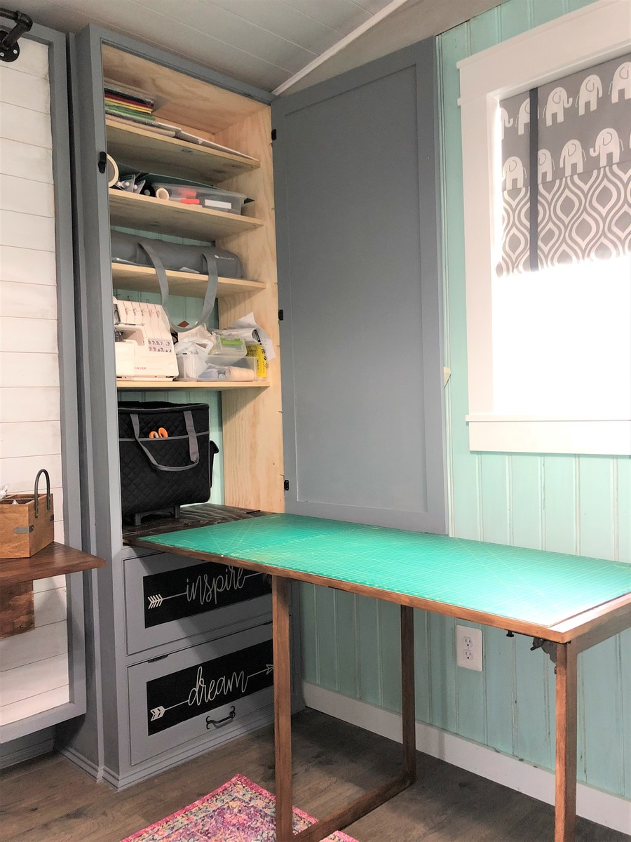 She Shed Guest Room Craft Room Office Ana White