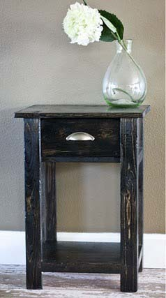 Simple Wooden Nightstand Plans