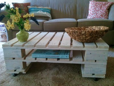 Ana White | Build a Pallet coffee table | Free and Easy DIY ...