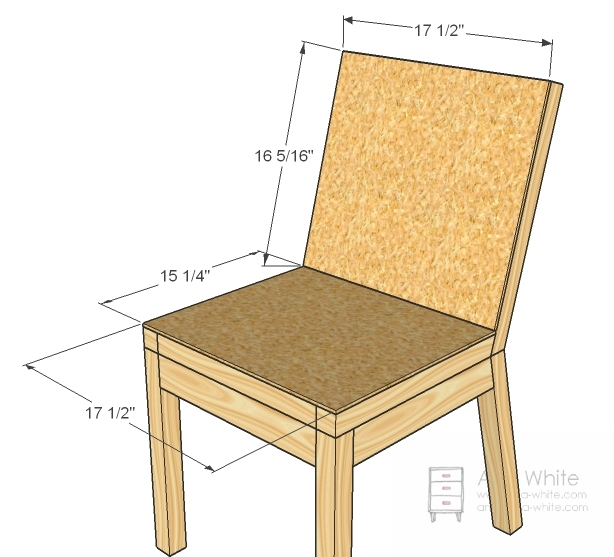 chair plans diy