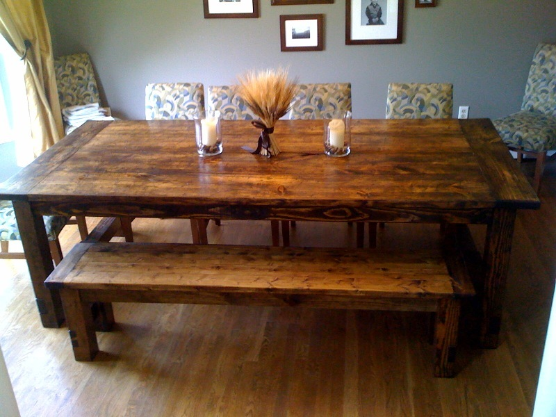 Ana White | Farmhouse Table : Restoration Hardware Replica ...
