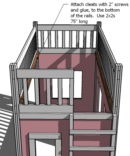 pottery barn playhouse loft bed plans
