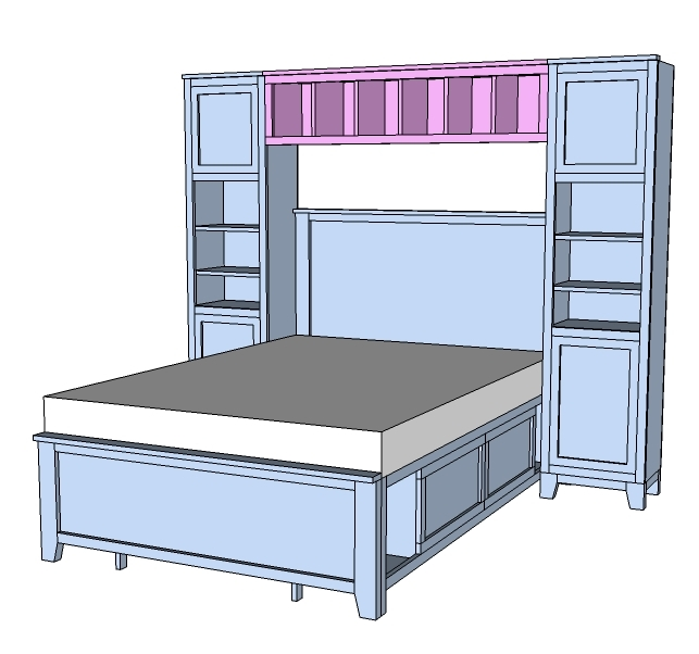 ana white hailey hutch for twin and full beds diy projects. Black Bedroom Furniture Sets. Home Design Ideas