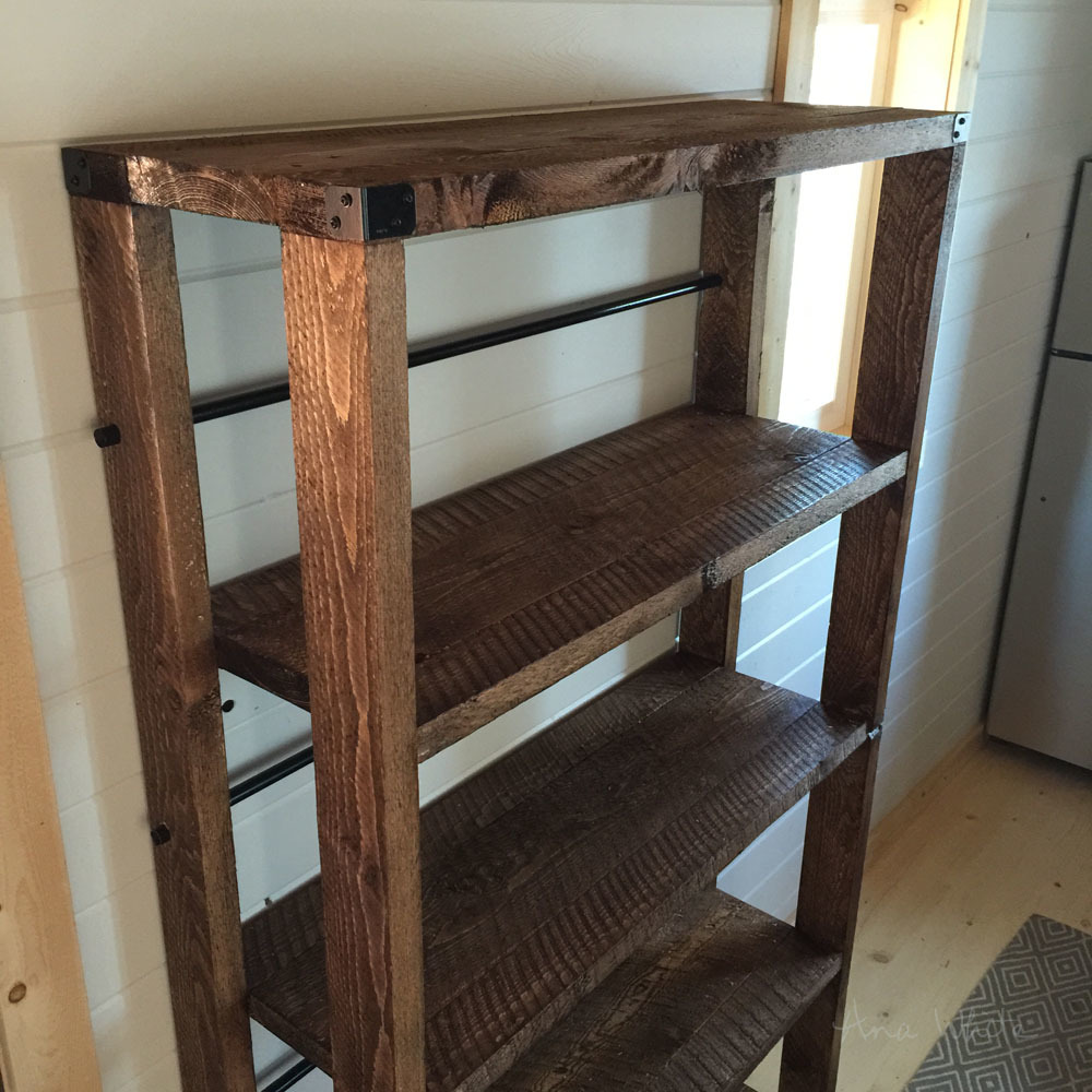 Well-liked Ana White | Reclaimed Wood Rolling Shelf - DIY Projects OV54